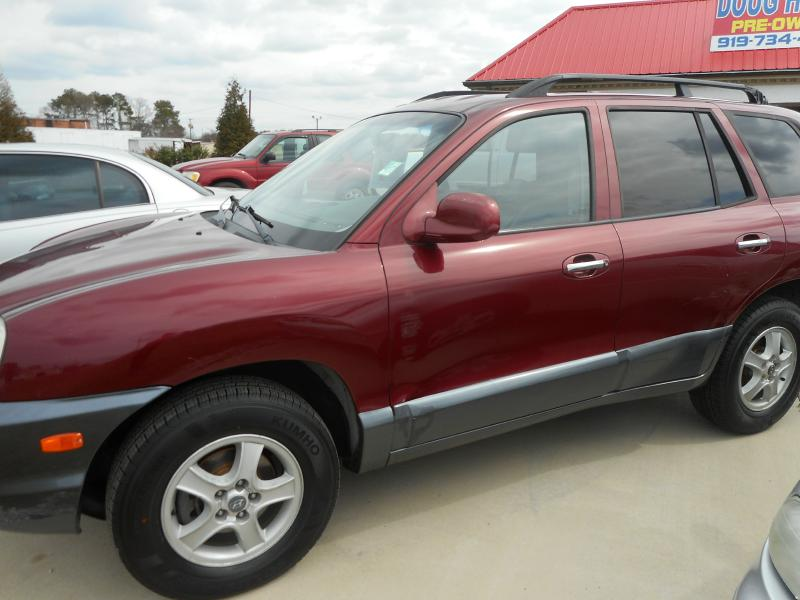 2003 HYUNDAI SANTA FE GLS for sale!