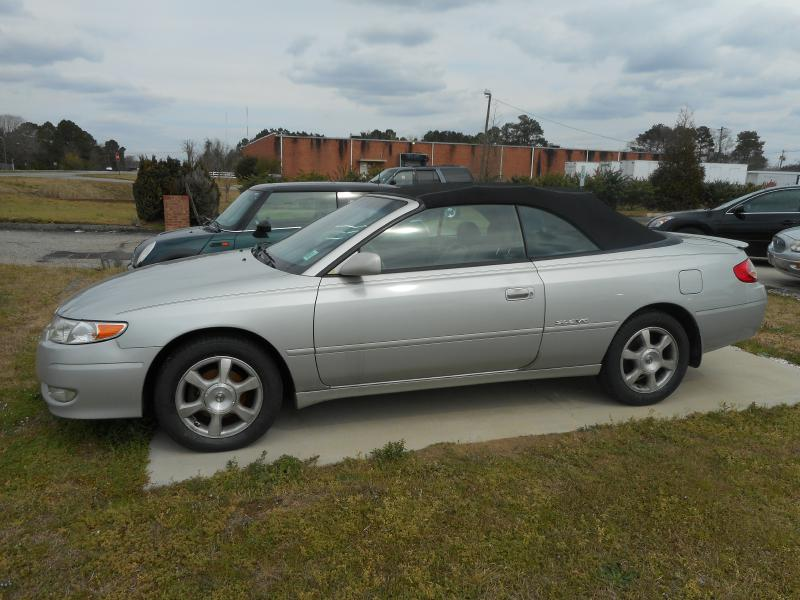 2003 TOYOTA CAMRY SOLARA SE for sale by dealer