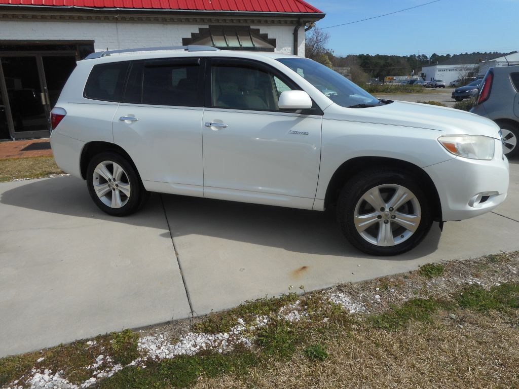 2008 TOYOTA HIGHLANDER LIMITED for sale by dealer
