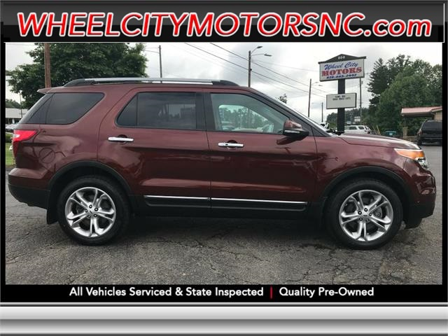 2015 FORD EXPLORER LIMITED Asheville NC