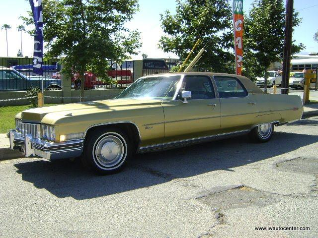 1973 Cadillac Brougham for sale by dealer