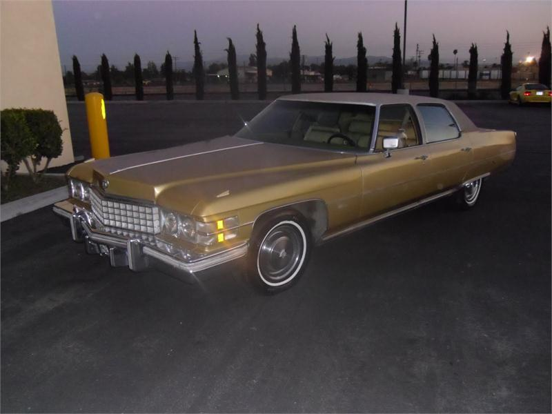 1974 Cadillac Fleetwood for sale by dealer
