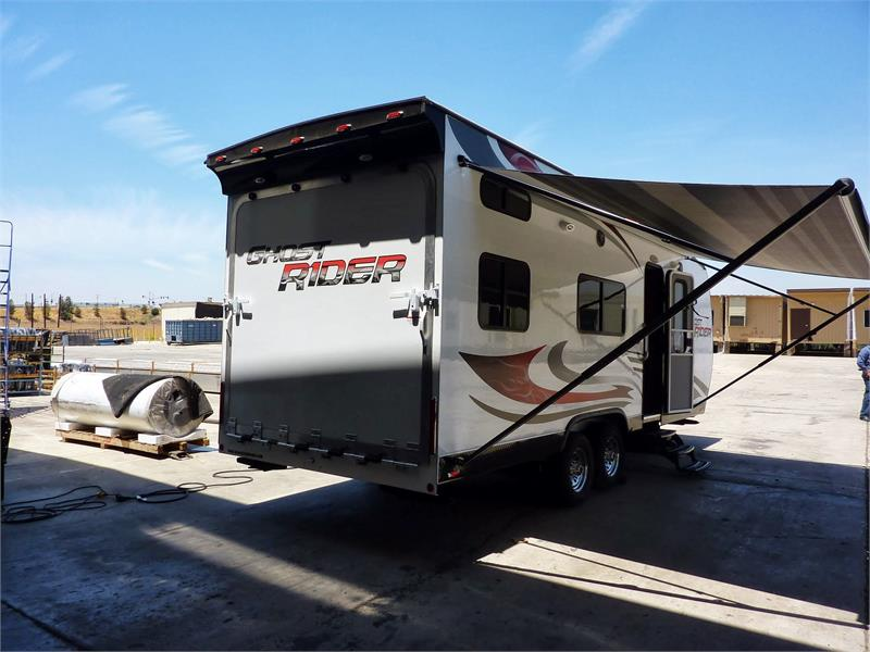 2015 Ghost Rider TOY HAULER for sale by dealer