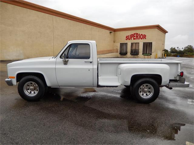 1982 GMC  SIERRA 3/4 TON STEPSIDE for sale by dealer