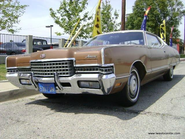 1972 MERCURY MARQUIS for sale by dealer