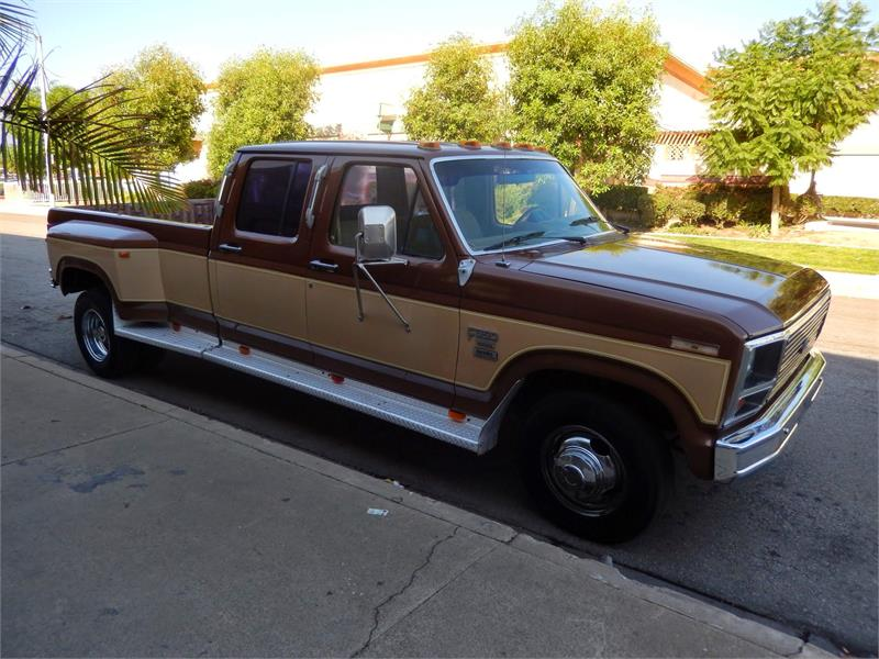 1985 FORD F350 CREW CAB DUALLY 6 9 for sale in Ontario