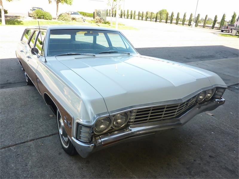 1967 CHEVROLET CAPRICE WAGON 396 for sale by dealer