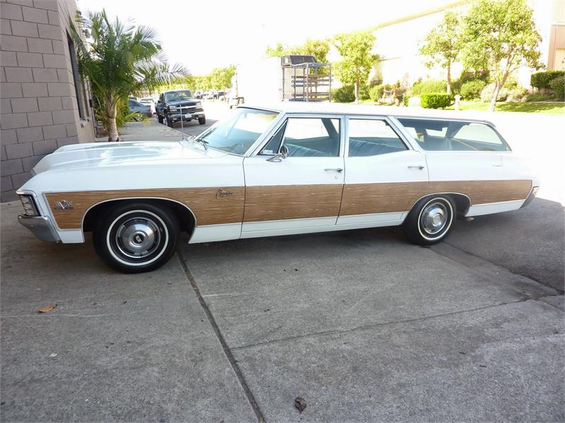 1967 CHEVROLET CAPRICE WAGON 396 for sale in Ontario