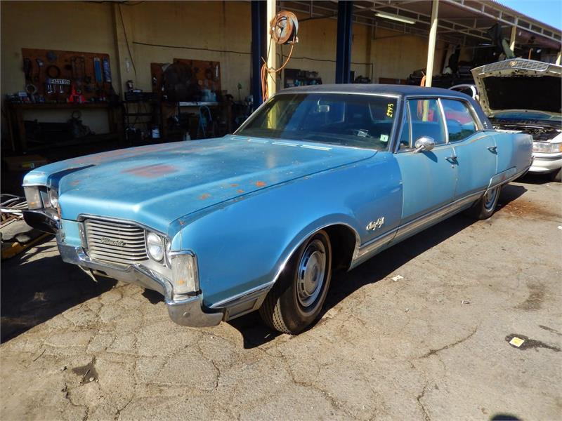 1968 OLDS 98  LUXURY for sale by dealer