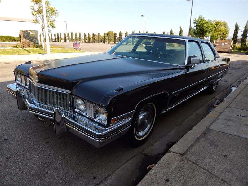 1973 CADILLAC FLEETWOOD BROUGHAM for sale by dealer