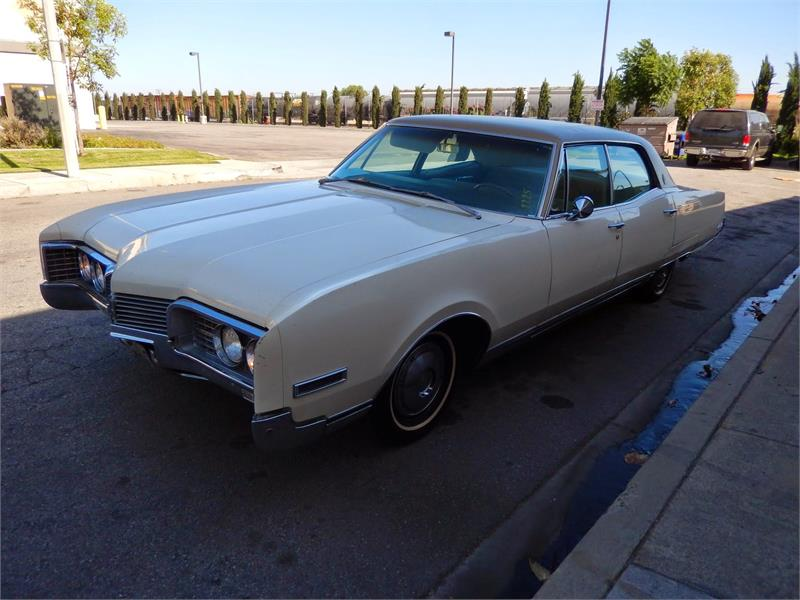 1967 OLDSMOBILE 98  LUXURY  for sale by dealer