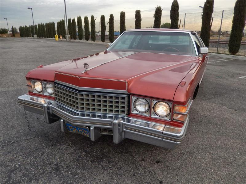 1977 CADILLAC DEVILLE for sale by dealer