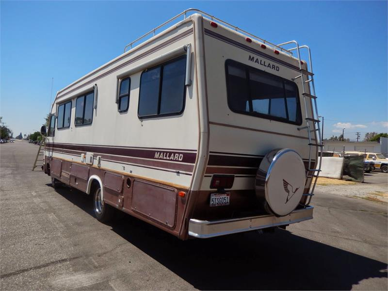 Excellent 1988 MALLARD MOTORHOME For Sale In Ontario CA