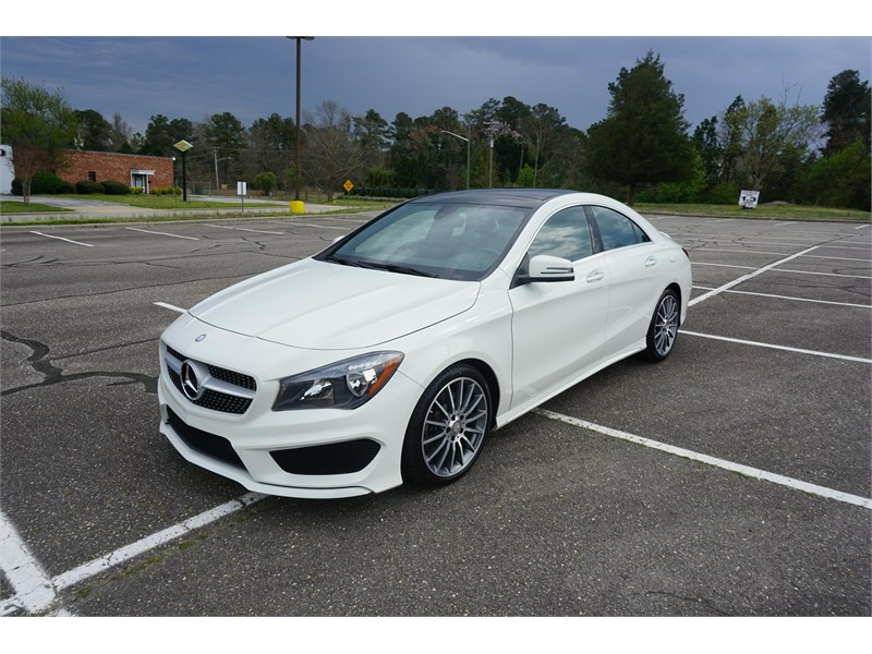 2016 Mercedes Benz Cla 250
