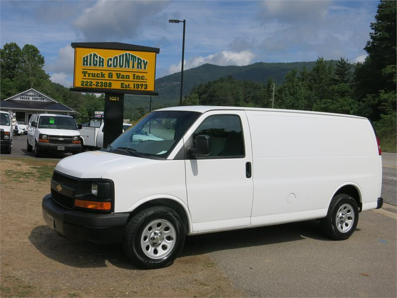 2012 CHEVROLET EXPRESS G1500 CARGO VAN for sale by dealer
