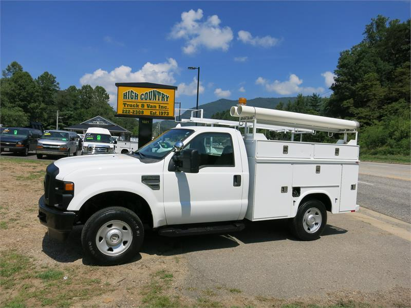 2008 FORD F250 SD XL 4x4 UTILITY TRUCK for sale!