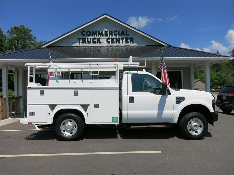 2008 ford f250 sd xl 4x4 utility truck for sale in fairview. Black Bedroom Furniture Sets. Home Design Ideas