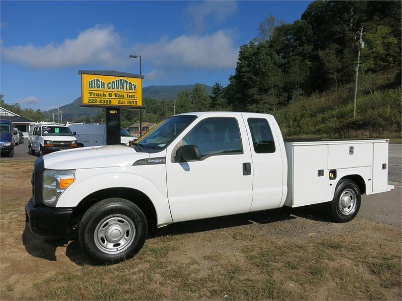 2012 FORD F250 SD SUPERCAB UTILITY TRUCK for sale!