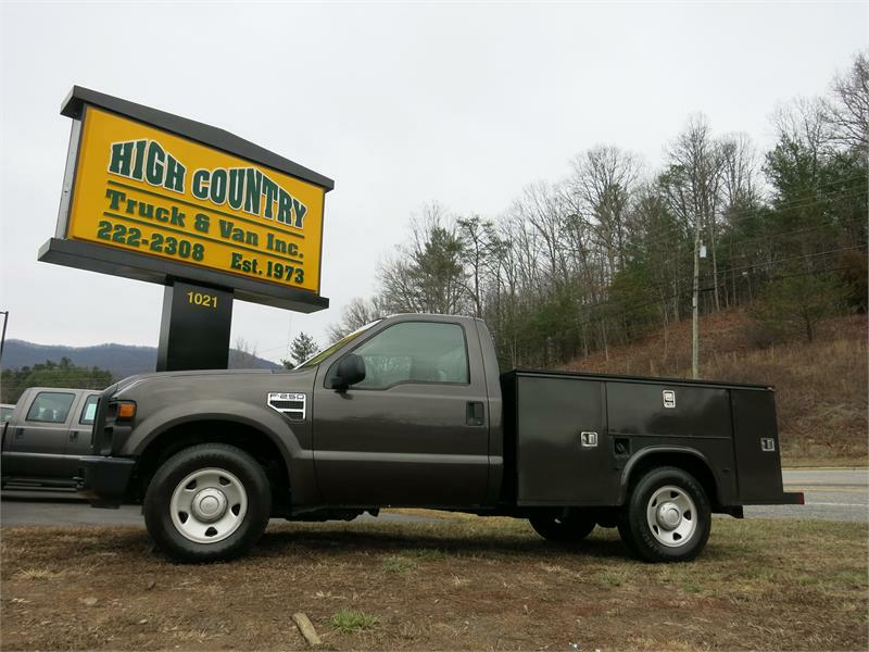 2008 FORD F250 SD XL UTILITY TRUCK for sale by dealer