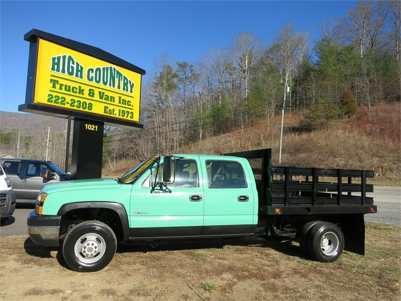 2006 CHEVROLET C3500 CREWCAB FLATBED for sale!