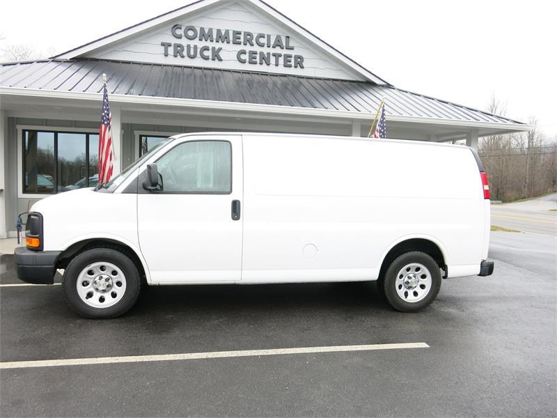 2013 CHEVROLET EXPRESS G1500 CARGO VAN for sale by dealer