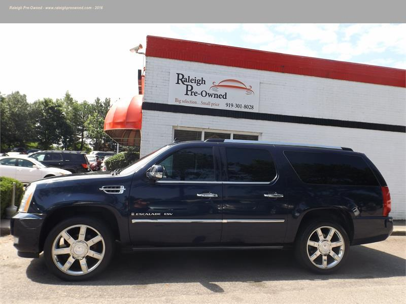 2007 CADILLAC ESCALADE ESV for sale by dealer