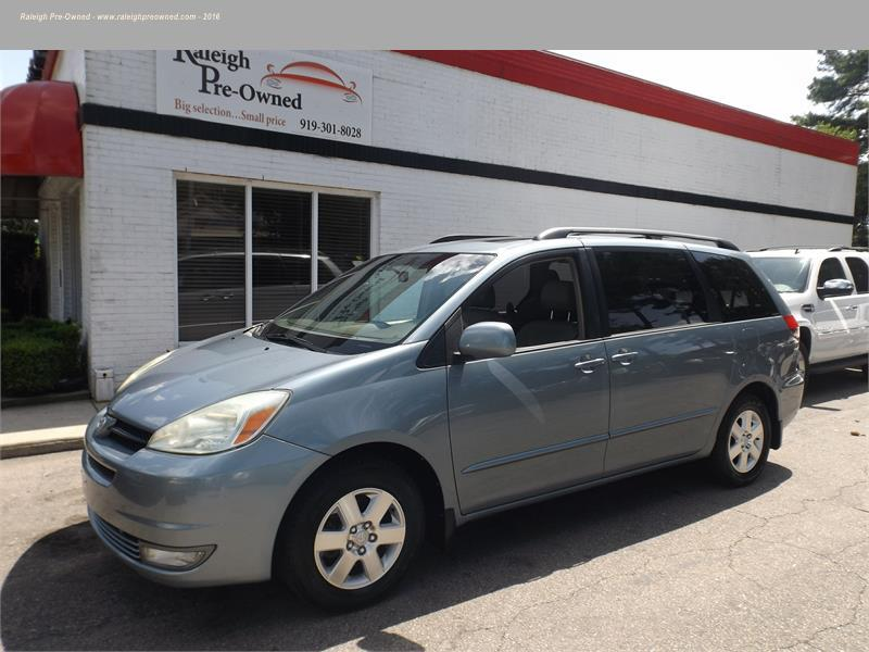 2004 toyota sienna xle for sale in raleigh. Black Bedroom Furniture Sets. Home Design Ideas