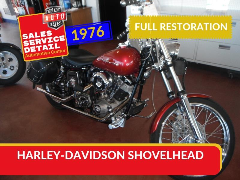 1976 Harley-Davidson Shovel Head  for sale by dealer