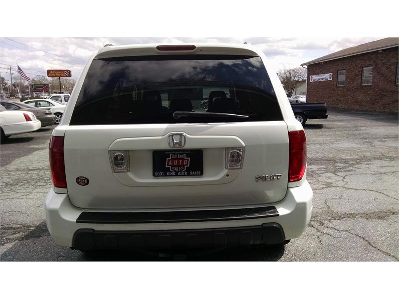 2003 honda pilot ex w leather and nav system for sale in hendersonville. Black Bedroom Furniture Sets. Home Design Ideas