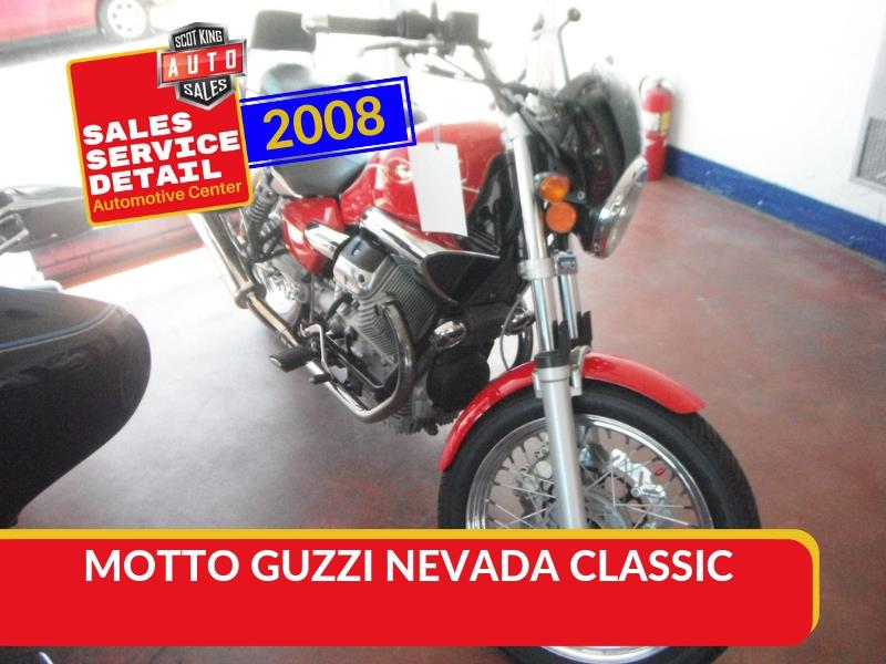 2008 MOTTO GUZZI NEVADA CLASSIC for sale!