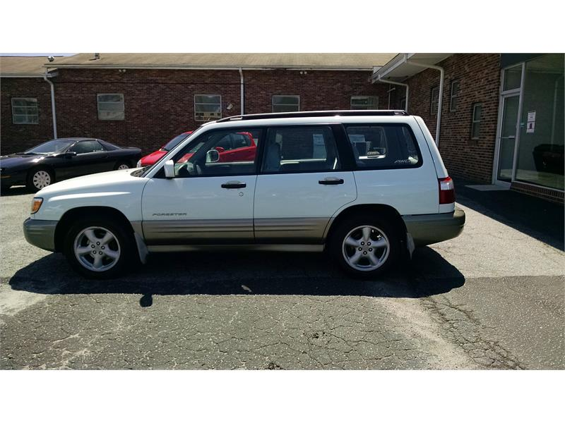 2002 Subaru Forester S Premium for sale by dealer