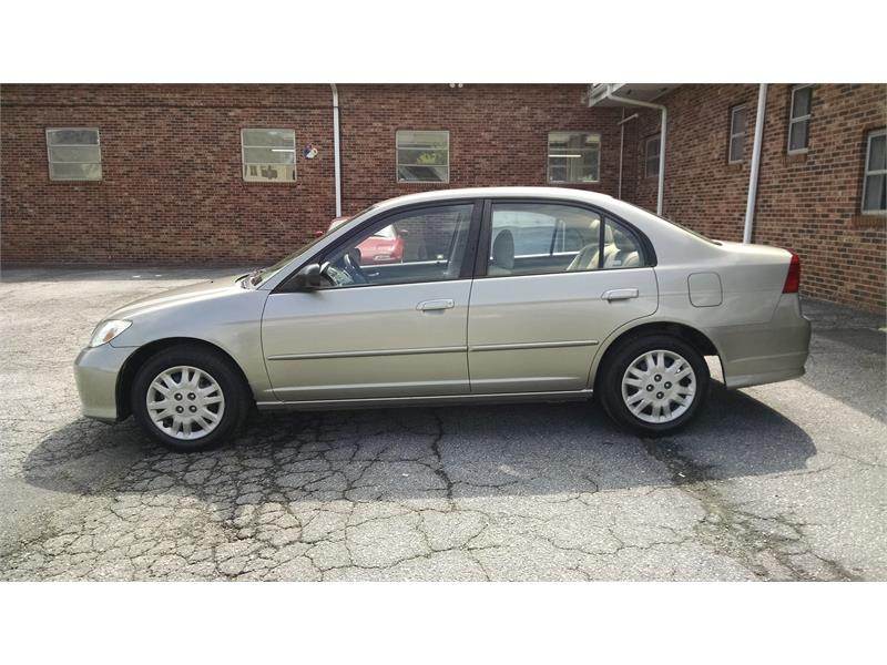 2005 honda civic lx sedan at for sale in hendersonville. Black Bedroom Furniture Sets. Home Design Ideas