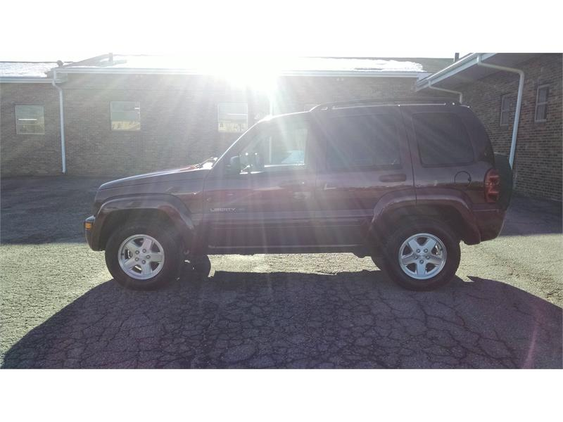 2003 Jeep Liberty Limited 2WD for sale by dealer