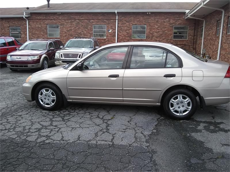 2001 Honda Civic LX sedan for sale by dealer