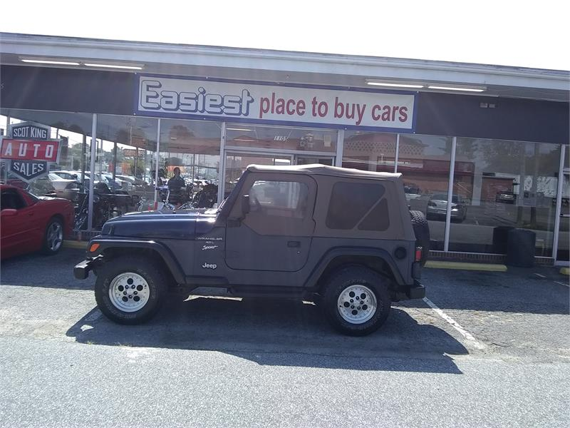 1997 Jeep Wrangler Sport for sale by dealer