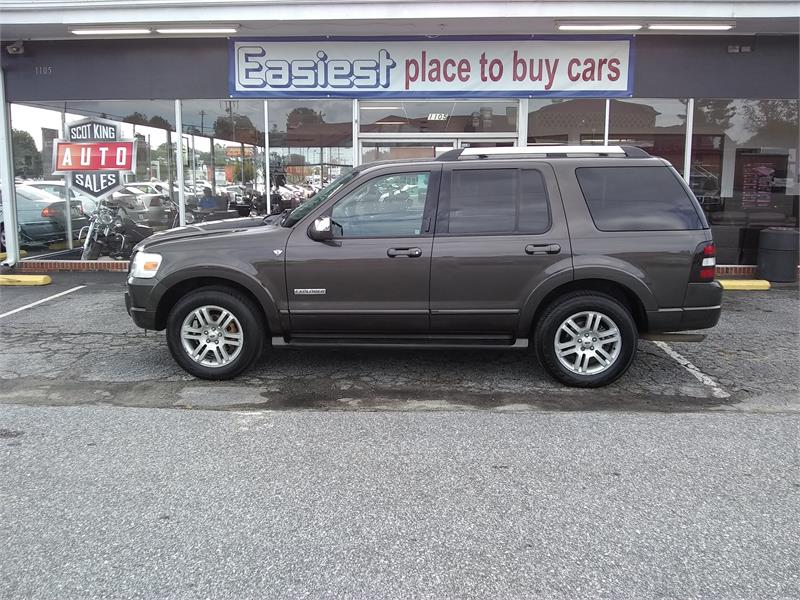 2007 Ford Explorer Limited 4.6L 4WD for sale by dealer