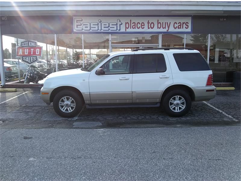 2004 Mercury Mountaineer Luxury 4.0L AWD for sale by dealer