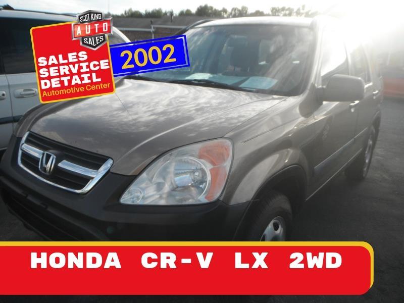 2002 Honda CR-V LX 2WD for sale by dealer