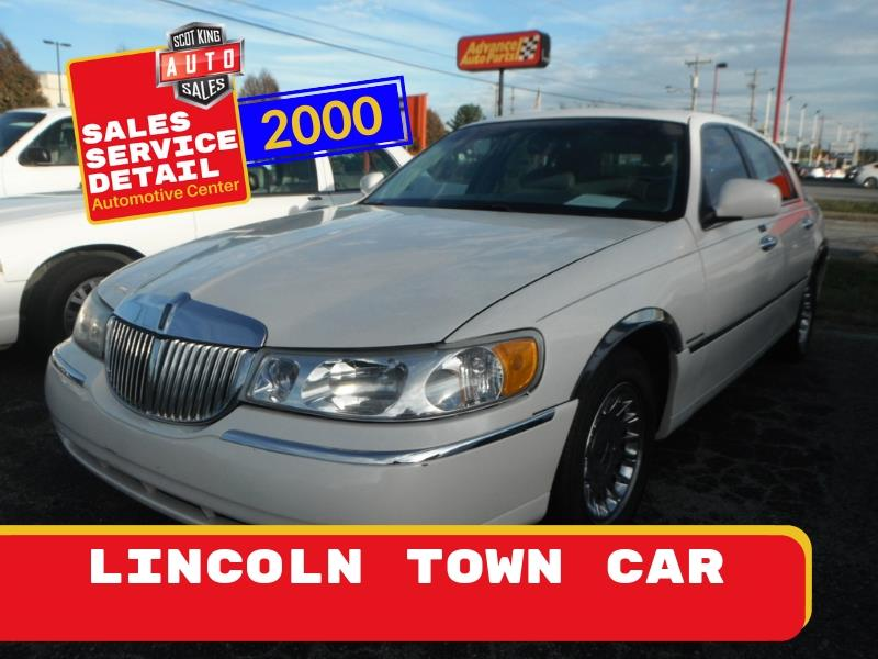 2000 Lincoln Town Car Cartier for sale by dealer