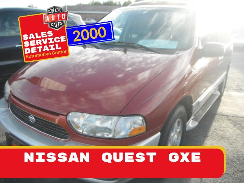 2000 Nissan Quest GXE for sale by dealer