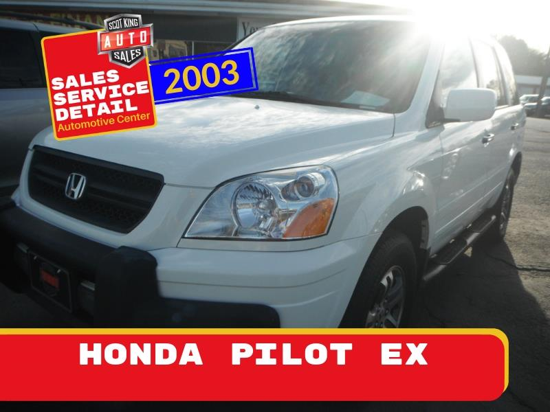 2003 Honda Pilot EX w/ Leather and Nav System for sale by dealer