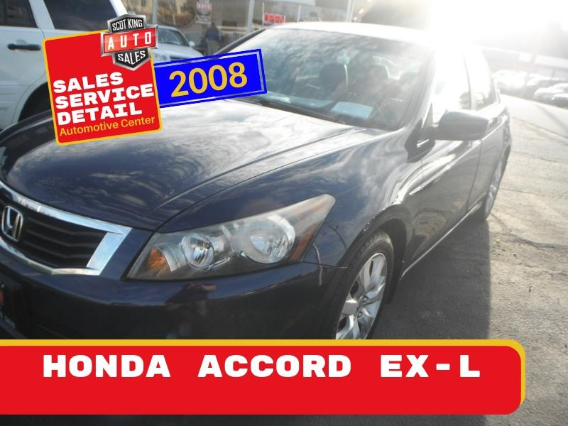 2008 Honda Accord EX-L V-6 Sedan AT for sale by dealer