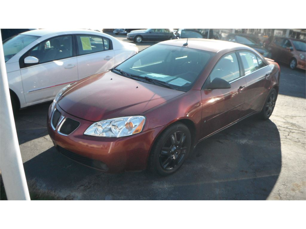 2008 Pontiac G6 Sedan for sale by dealer
