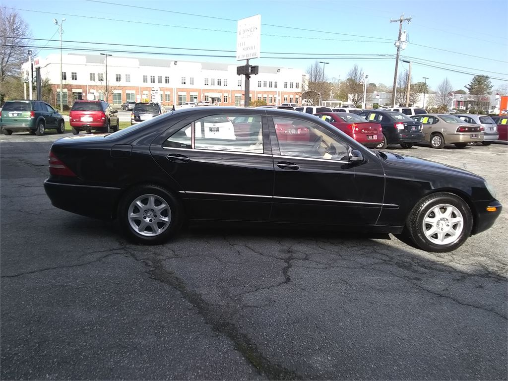 2002 Mercedes-Benz S-Class S430 for sale by dealer