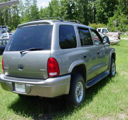 2000 DODGE DURANGO for sale by dealer