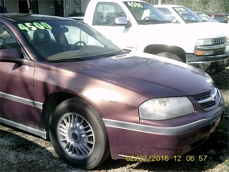 2000 CHEVROLET IMPALA for sale by dealer