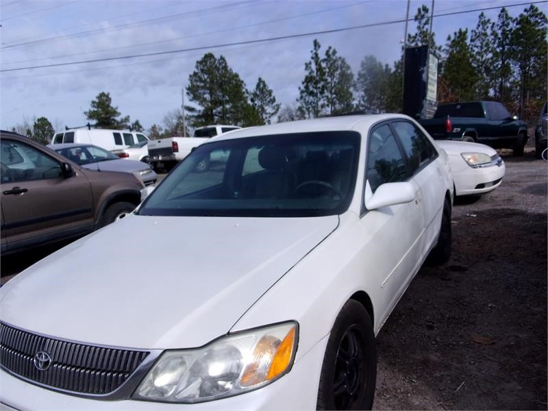2001 TOYOTA AVALON XL/XLS for sale by dealer