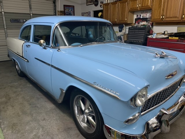 1955 CHEVROLET BELAIR 210 for sale by dealer