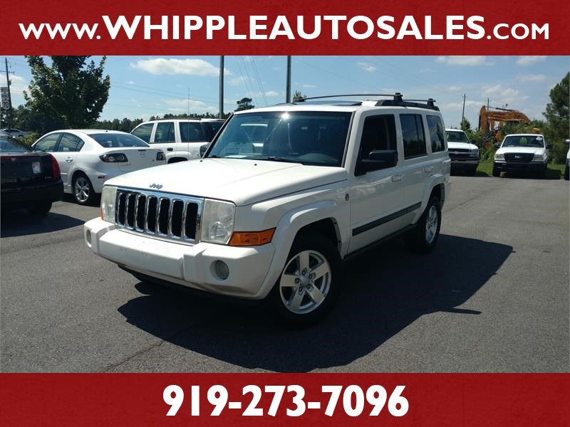 2007 JEEP COMMANDER SPORT for sale by dealer