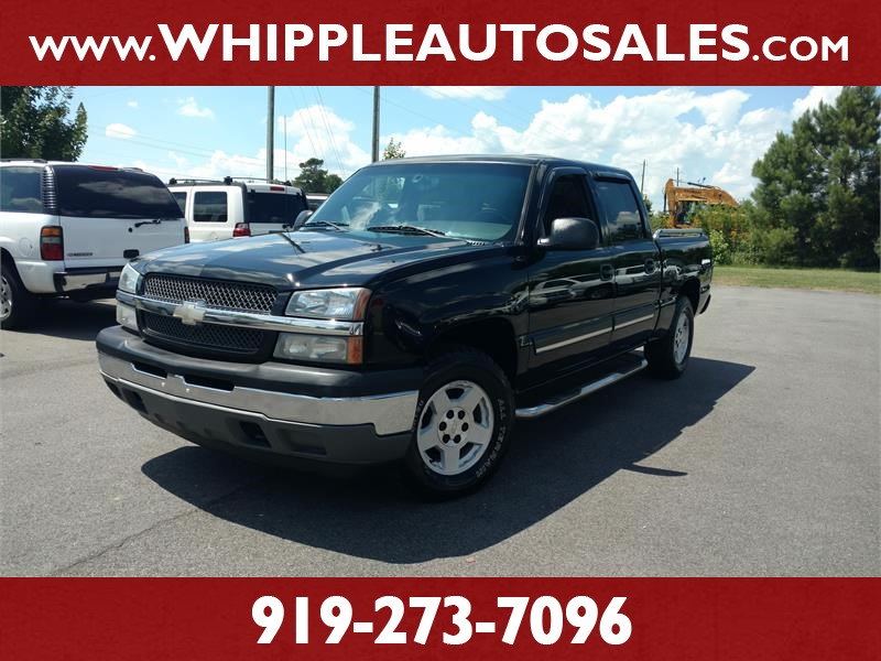 2005 CHEVROLET SILVERADO CREW CAB Z71 for sale by dealer